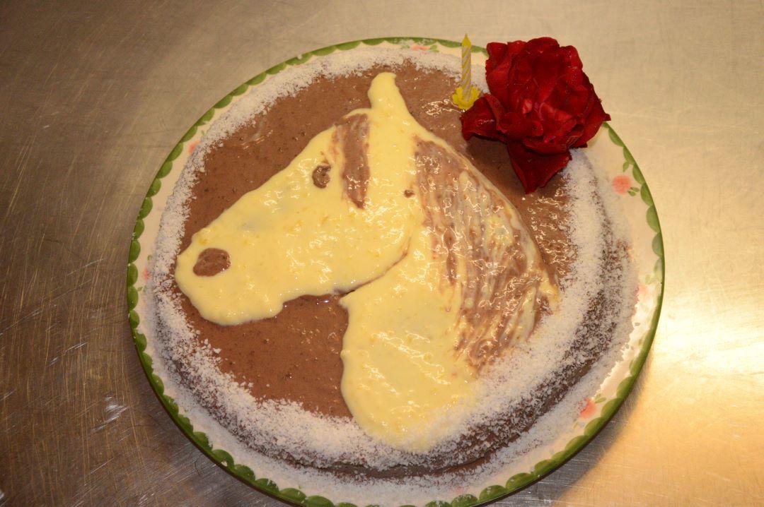 ranč kaja in grom otroci rojstni dan torta