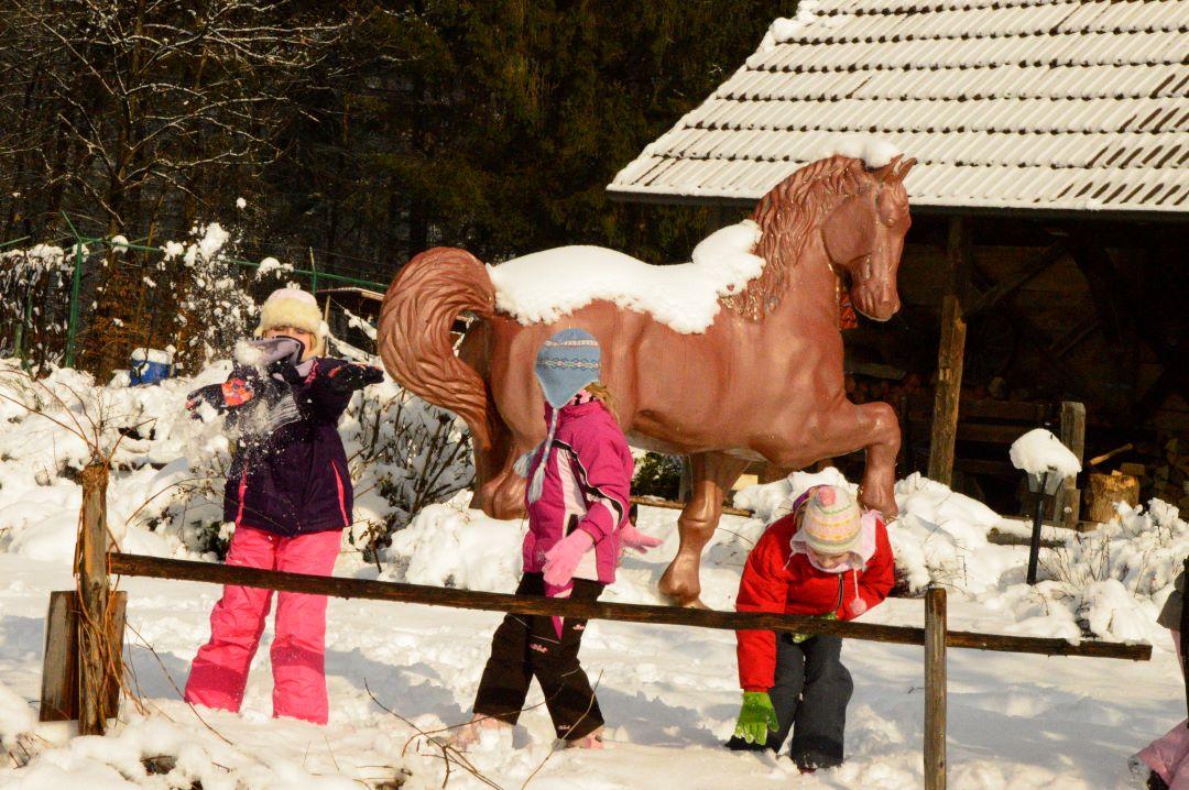 ranč kaja in grom zima
